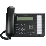 Проводной SIP-телефон PANASONIC KX-UT133RUB (черный)