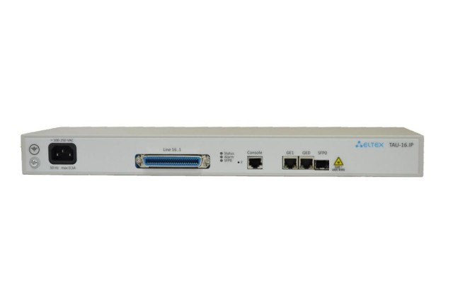 VoIP-шлюз Eltex TAU-16.IP-AC-S