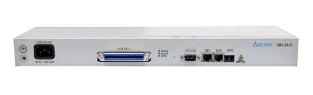 VoIP-шлюз Eltex TAU-24.IP-AC-S