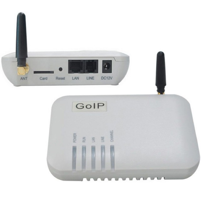 VoIP-GSM шлюз GoIP GS-1
