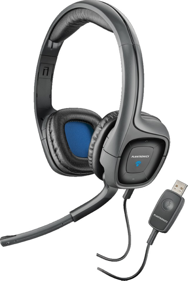 Plantronics .Audio 655 DSP - Гарнитура для компьютера , USB